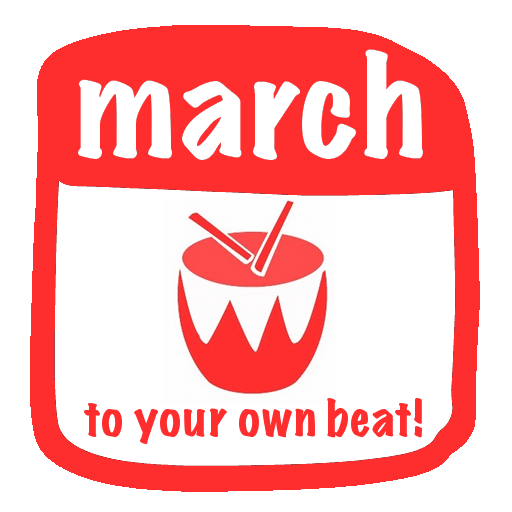 march-to-your-own-beat