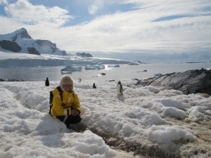 Gusto & Gecko in Antartica